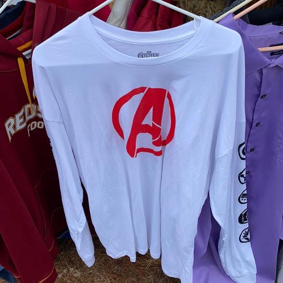 Marvel avengers long sleeve shirt